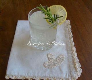 Limonata al rosmarino - Limonada cu aroma de rozmarin
