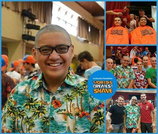 Last month, we brought you the story of Patrick Vasquez who recently participated in the World's Greatest Shave in memory of his late brother, Timothy Alen Vasquez and classmate Jacques Pacifique. We are pleased to share these photos of Patrick and his team at St Mary's Cathedral College who have raised over $1,200 for the Leukaemia Foundation. Patrick's story: http://my.leukaemiafoundation.org.au/patrickvasquez ‪#‎bebraveandshave‬ ‪#‎worldsgreatestshave‬