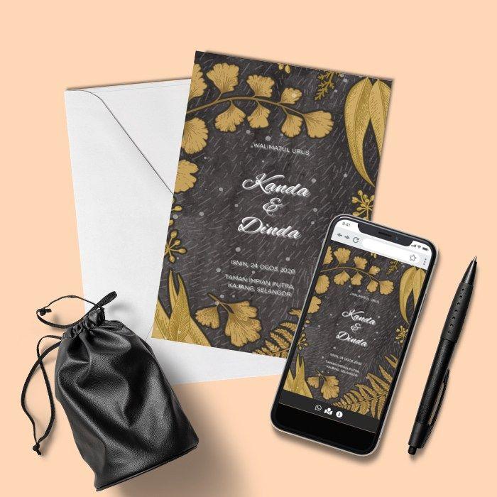 Design By Inspirasi Kad Kahwin Kad Kahwin Online Invitations Kad Kahwin Design