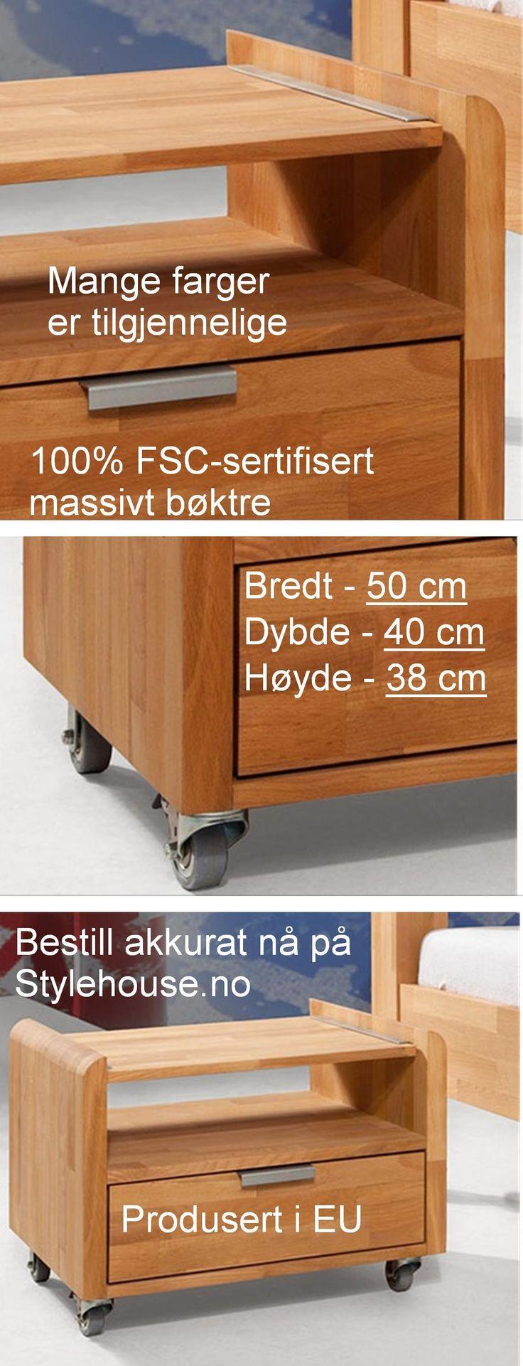 #nattbord #FSCheltrenattbord #FSCmøbler #Heltremøbler #Solidtremøbler