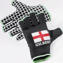 Gilbert International Rugby Gloves-England - X grip - Side finger panels-improved comfort and fit - Polyster palm,lyrca reverse http://www.comparestoreprices.co.uk/rugby-equipment/gilbert-international-rugby-gloves-england.asp