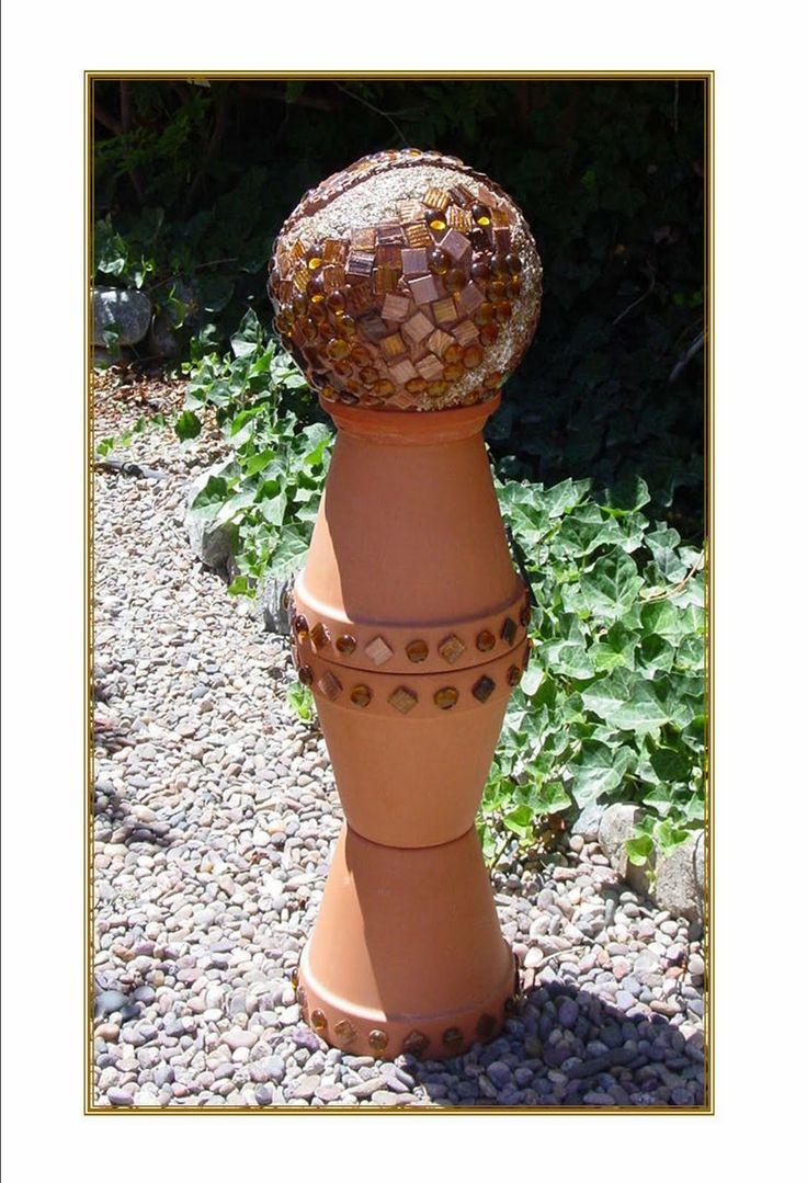 best 25+ yard ornaments ideas on pinterest | yard art, glass