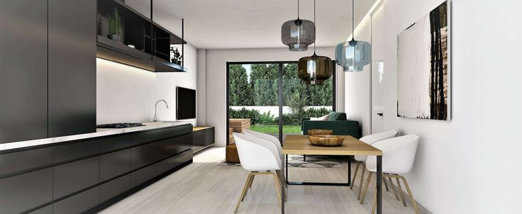 Poble Sec New Build 2 Bed Ground Floor Apartment with 73m2 Terrace – Poeta Cabanyes, 33-35 New Build Apartments in Poble Sec, Barcelona