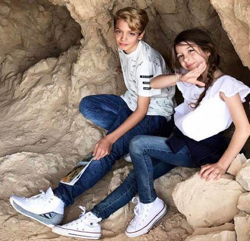 Elizabeth Gutiérrez Posta Fotos dos Filhos em Israel - Dicas na Internet
