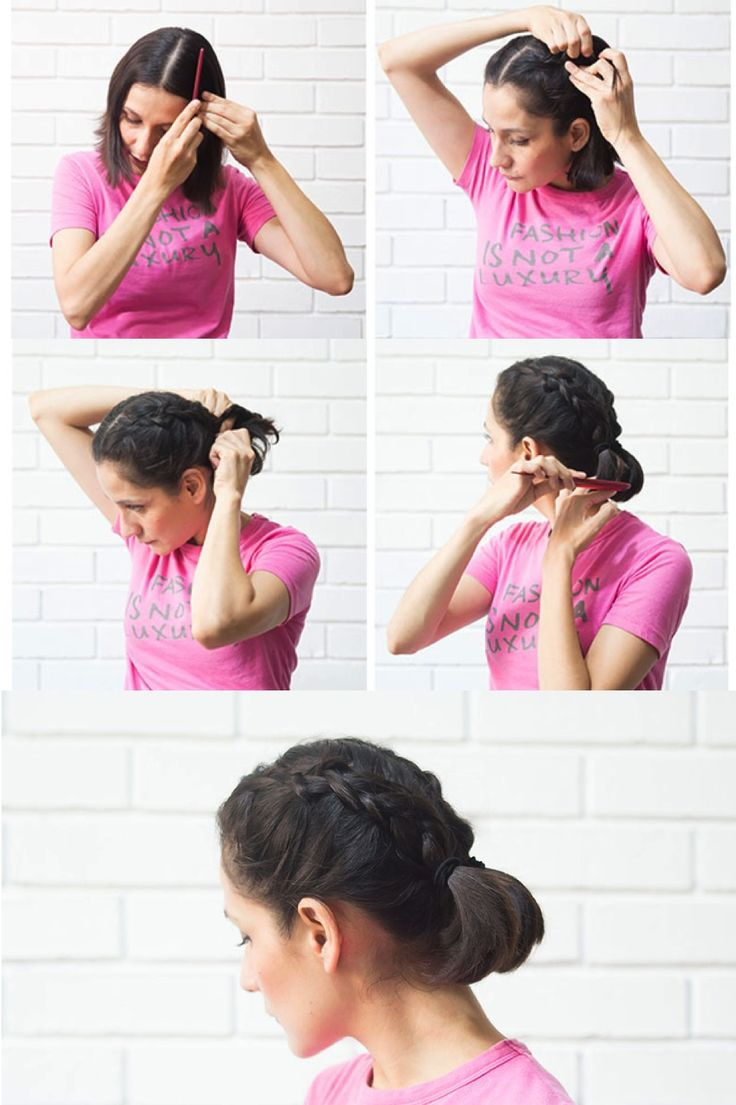 54 best mis creaciones images on pinterest ideas para - Ideas para peinados faciles ...