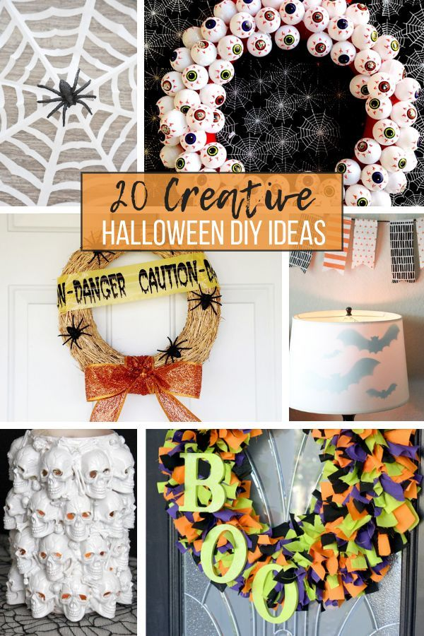 Diy Halloween Decor And Crafts Momma Lew Halloween Diy Crafts