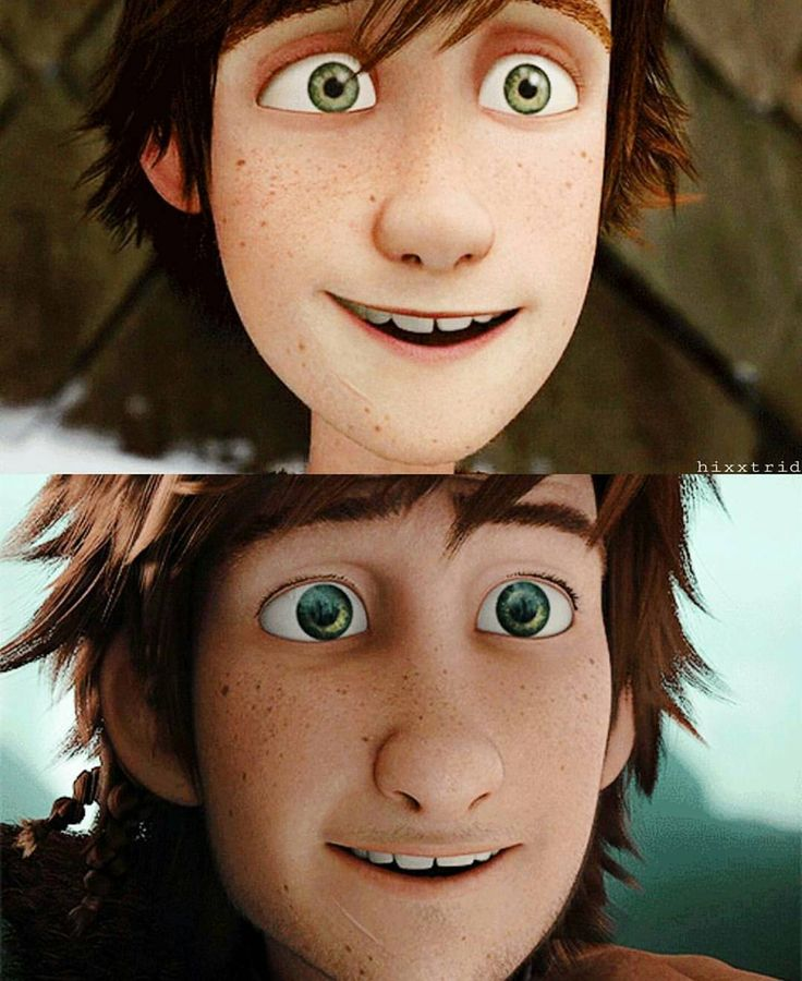 Hiccup ^.^ ♡ I give good credit to whoever made this