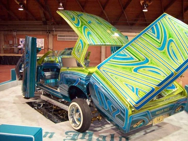 Custom Paint Lowrider: Rolling Malo Lowrider, Paint By Rob Vanderslice