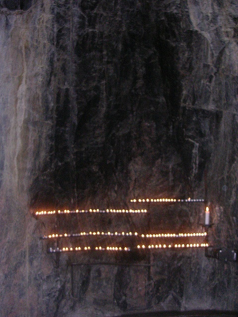 Prayer Candles, at Temppeliaukio Church, Finland