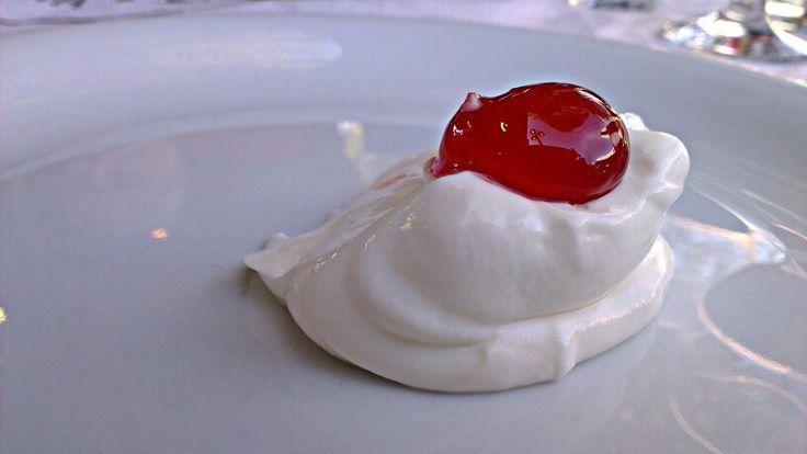 #Sweet #cherry and #yogurt