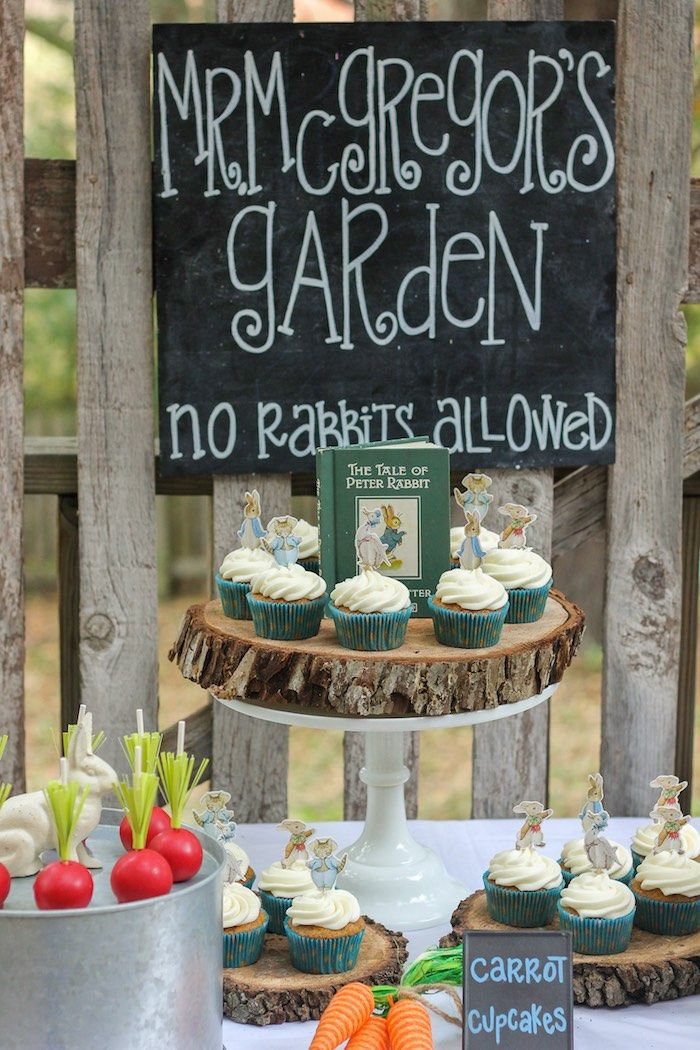 Sweets from a Peter Rabbit Birthday Party via Kara's Party Ideas | KarasPartyIdeas.com | The Place for All Things Party! (14)