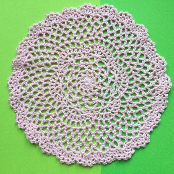 Round Lace doily Crochet pattern by Frances Powell ...