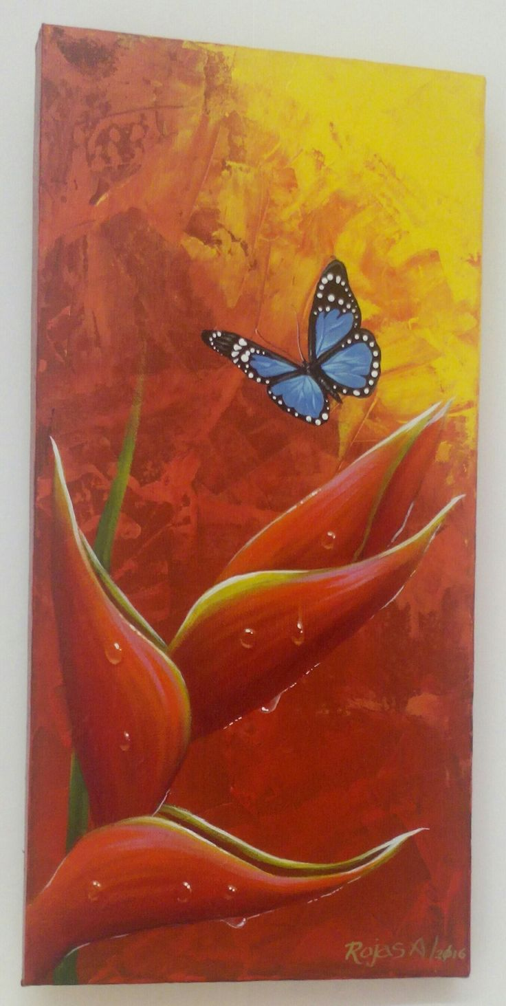 #butterfly #Art #Acrylic #Painting #RojasA