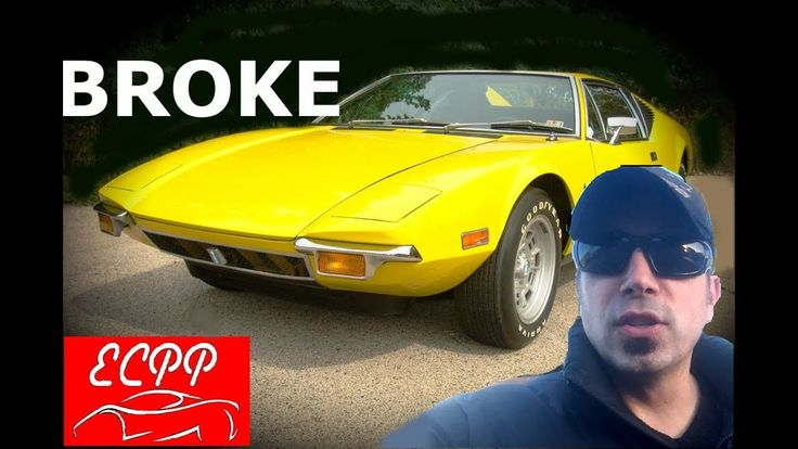 Time to Restore : DeTomaso Pantera Project