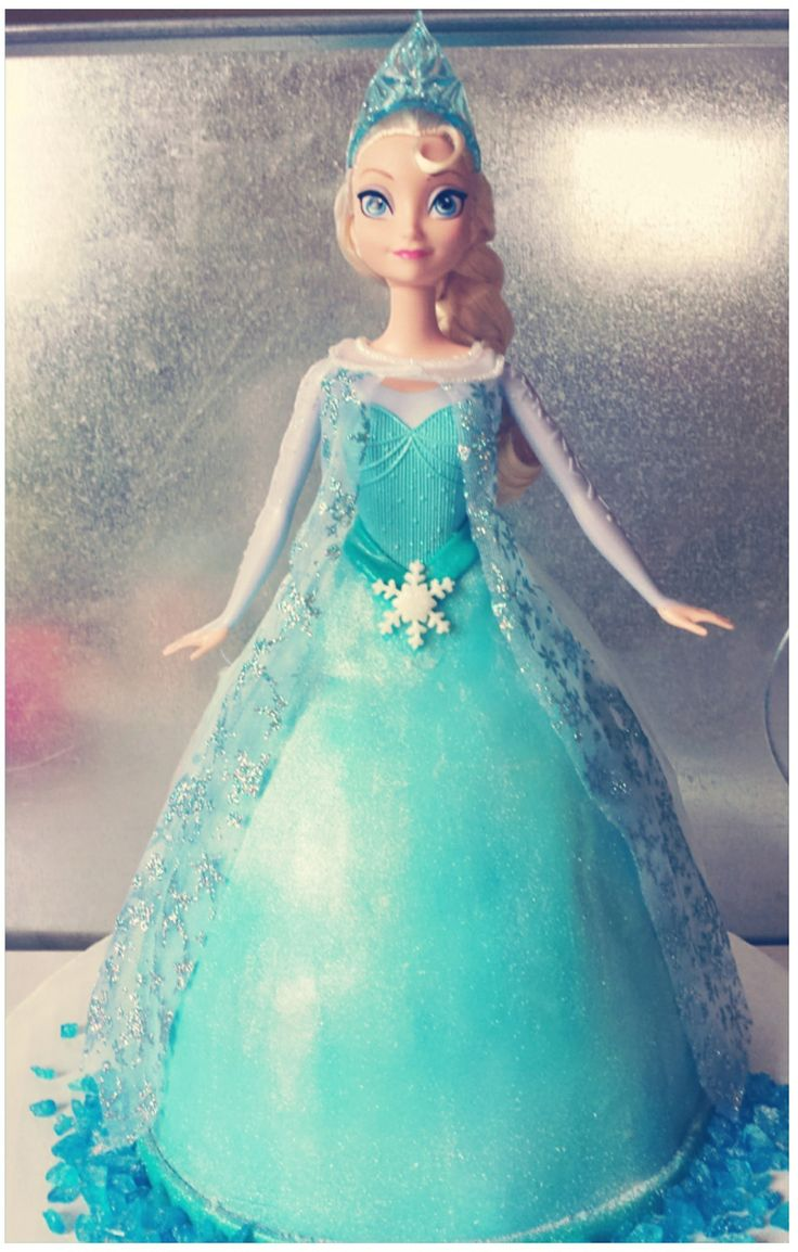 17 best images about cake design kids dolls on pinterest - Princesse frozen ...