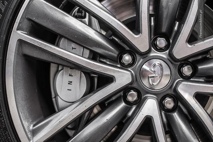 Infiniti Q50S 19-inch wheel #infiniti #wheel #q50S more: http://premiummoto.pl/08/09/infiniti-q50s-hybrid-awd-nasza-sesja