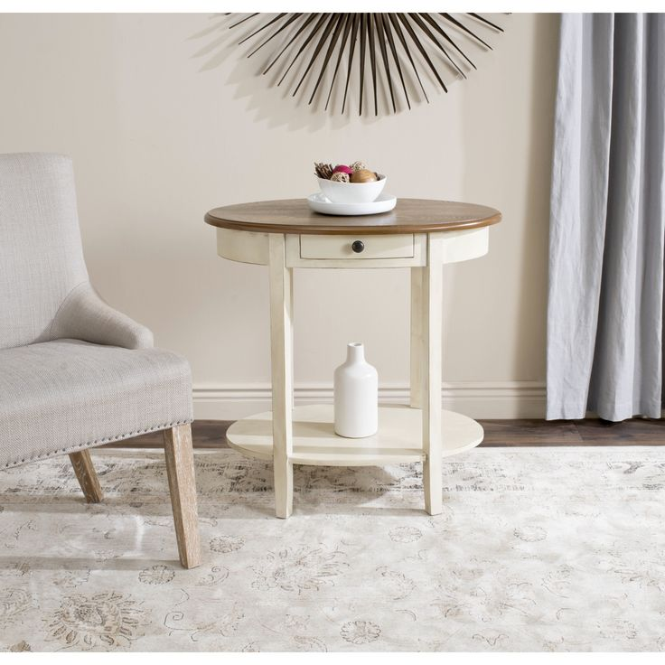 $126.99 Choose The Monica End Table For A Shabby Chic Style Accent In  Living Room