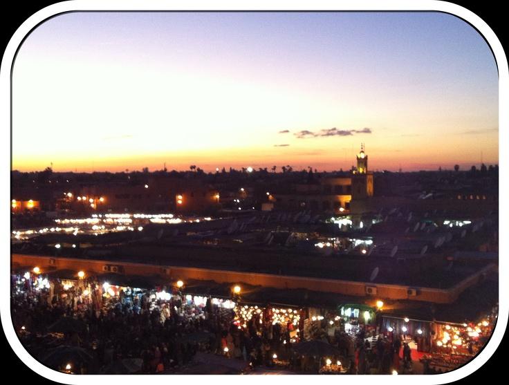Marrakech jema el fna