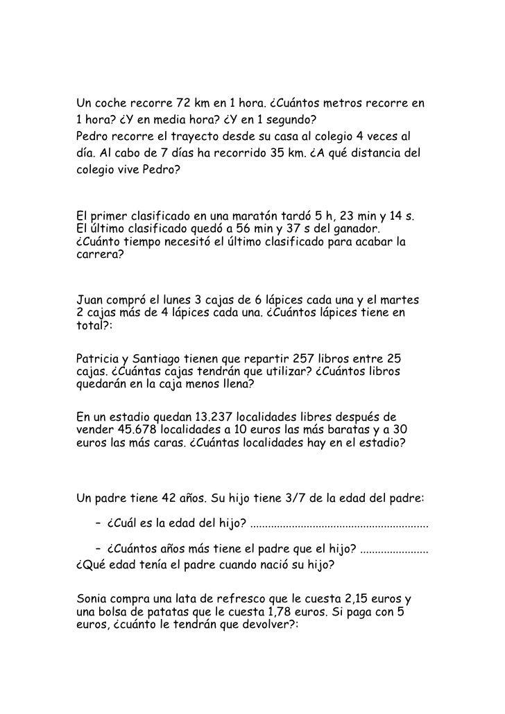 Batería de problemas (recopilación) | problemas mat ...
