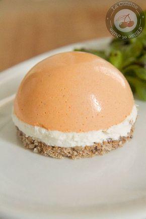Découvrez la recette Dômes à la mousse de poivrons et chèvre frais sur cuisineactuelle.fr.