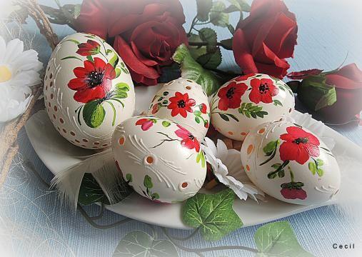Kolekcia červených by Cecil - SAShE.sk - Handmade Veľká Noc