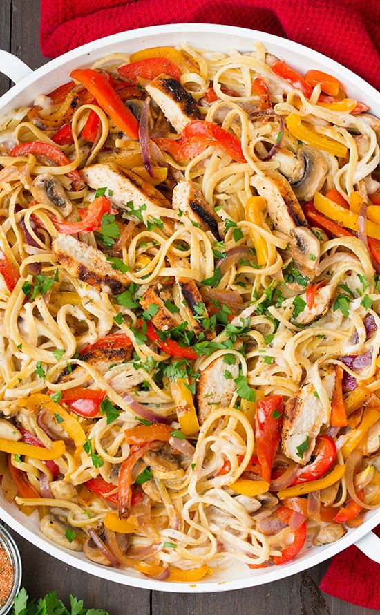 Food and Drink: Creamy Cajun Chicken Pasta - Cooking Classy