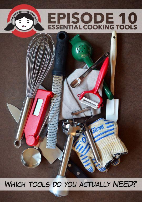 Nom Nom Paleo Podcast Episode 10: Essential Cooking Tools by Michelle Tam http://nomnompaleo.com