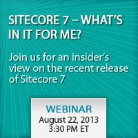 Sitecore 7 - What's in it for me? Learn how the new features in Sitecore 7 impact business users and editors. #webinars #sitecore #cms