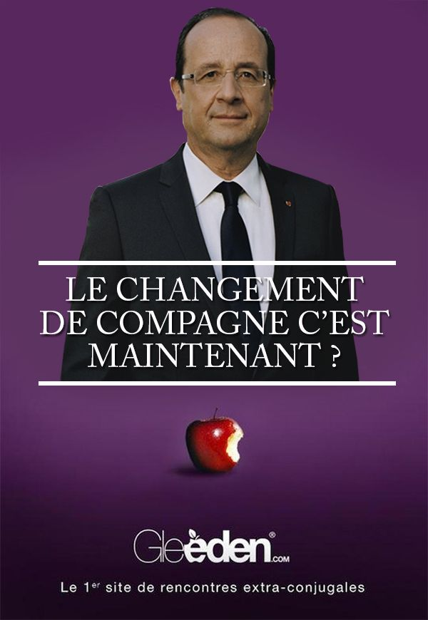 Hollande : nouvel ambassadeur pour Gleeden.com ?