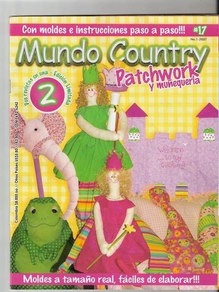 Revista Mundo Country Patchwork