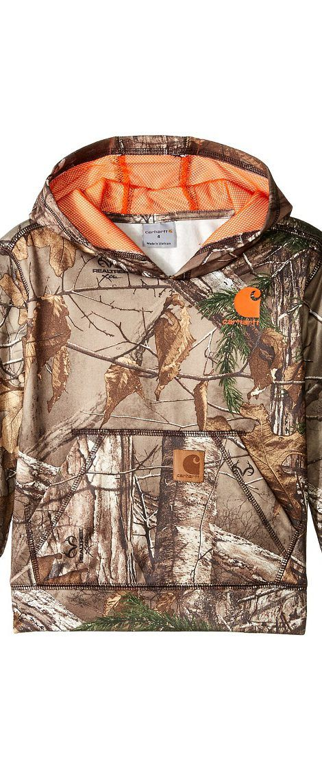 Carhartt Kids Camo Sweatshirt (Toddler/Little Kids) (Realtree Xtra) Boy's Sweatshirt - Carhartt Kids, Camo Sweatshirt (Toddler/Little Kids), CA8538-200, Apparel Top Sweatshirt, Sweatshirt, Top, Apparel, Clothes Clothing, Gift - Outfit Ideas And Street Style 2017