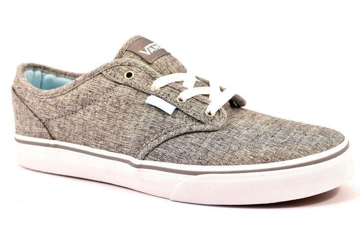 VANS VN0A34AAMO5 ATWOOD MENSWEAR GRIGIO Melange Junior Cotone Sneakers Estiva