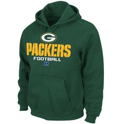 Green Bay Packers Green Critical Victory V Hoodie Sweatshirt