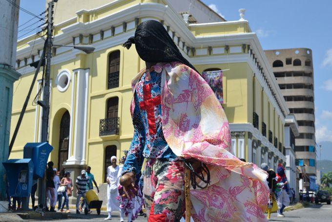 Primera Combatiente recibió a los Diablos Danzantes de San Millán en Casa de la Cultura