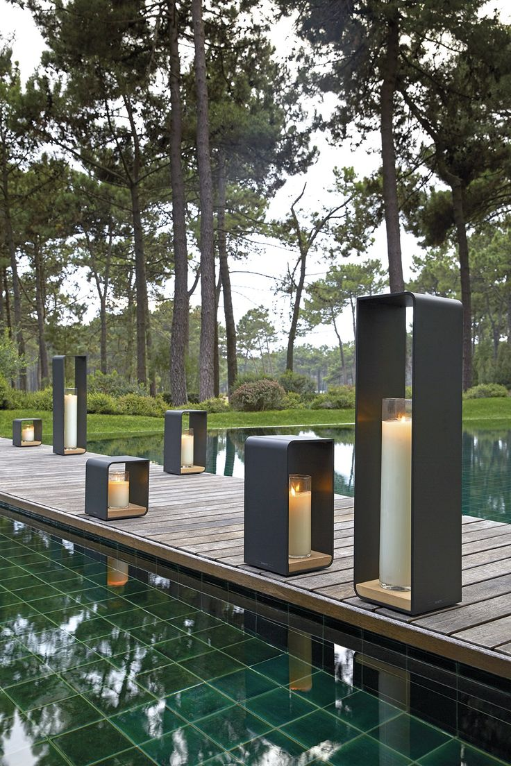 Download the catalogue and request prices of Flame by Manutti, powder coated aluminium candle holder