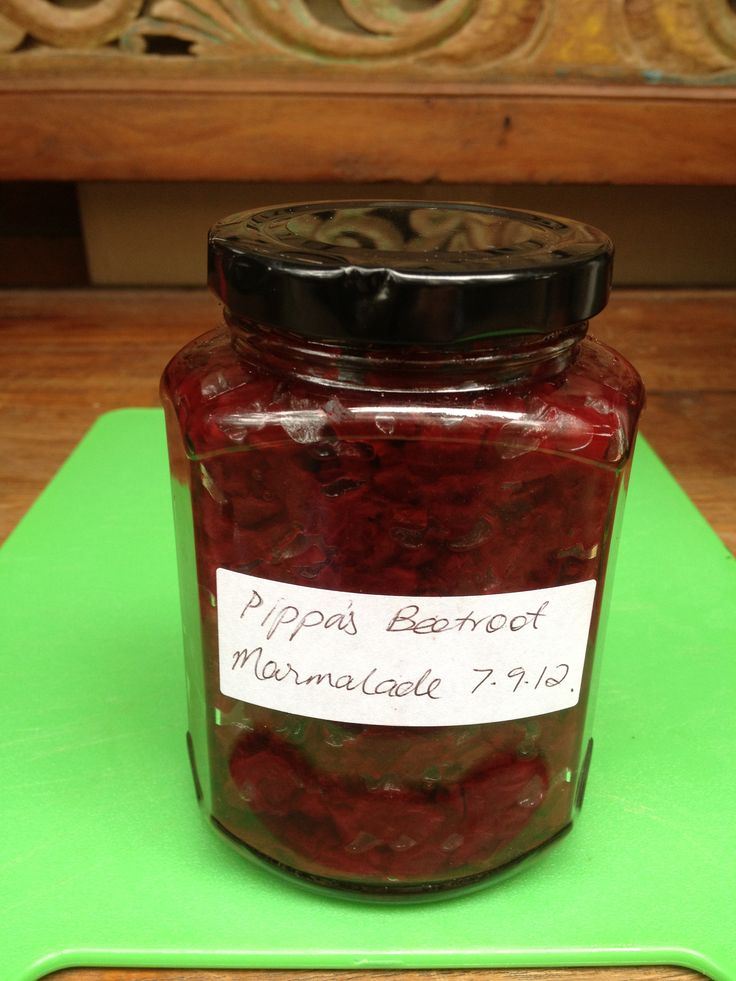 Recipe Beetroot Marmalade by Pippa May - Recipe of category Sauces, dips