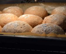 Rezept Schmand_Brötchen von Gisy - Rezept der Kategorie Brot & Brötchen