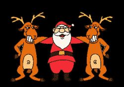 Papai Noel Dança