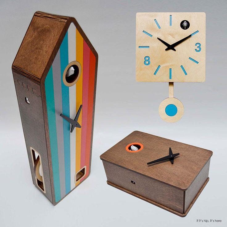 Pedro Mealha Makes Marvelous Modern Cuckoo Clocks | http://www.ifitshipitshere.com/pedro-mealha-makes-marvelous-modern-cuckoo-clocks/
