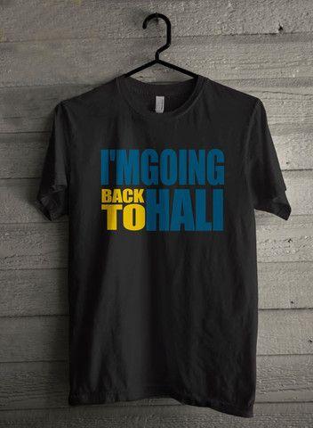 Im Going Back To Hali