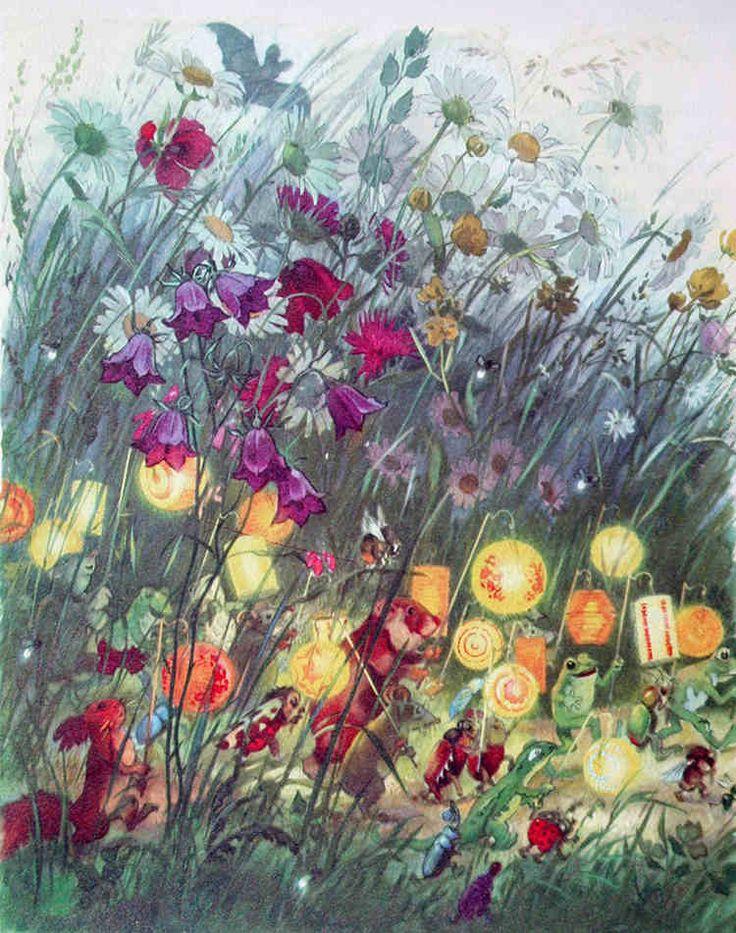 FRITZ BAUMGARTEN  - Ich liebte seine Illustrationen immer sehr - bis heute!