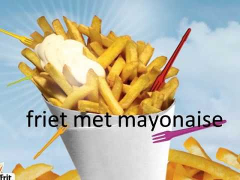 Zak Patat met! (fries with mayo to go)