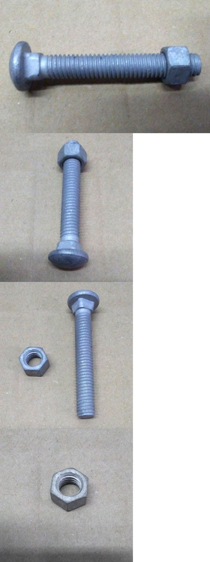Screws and Bolts 180976: 3 8 X 2 1 2 Carriage Bolt With Nut (Lot Of 100) -> BUY IT NOW ONLY: $34 on eBay!