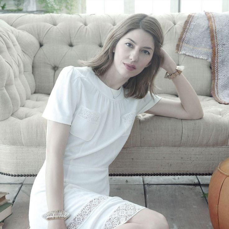 Sophia Coppola - brains, beauty and creativity! | Aloxxi Hair Color Personality Get A Grappa® | brunette hair | brown hair | mid-length hair | shoulder length hair | hair color inspiration | hair style ideas | celebrity hair | #WhatsYourColorPersonality