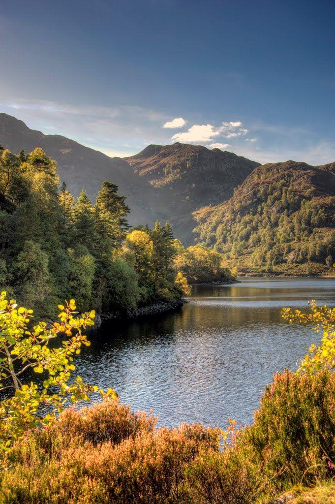 Across Loch Katrine To Ben Venue, Scotland