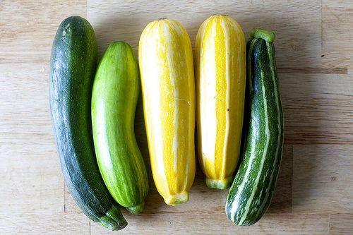 Summer squash recipes from Smitten Kitchen.