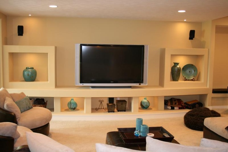 basement entertainment center in one of our custom homes love the