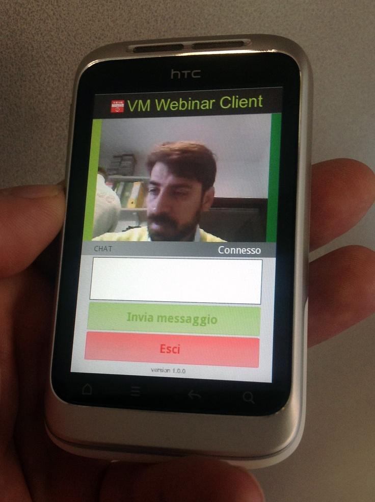 L'applicazione VM per sistemi Android in anteprima...