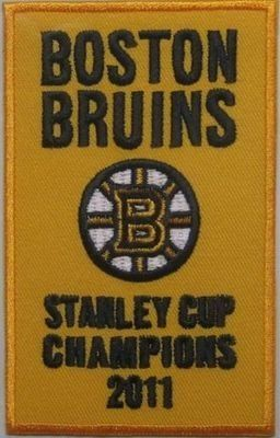 Boston Bruins Stanley Cup 2011 Champions opening night jersey banner patch by Your Sports Memorabilia Store. $9.95