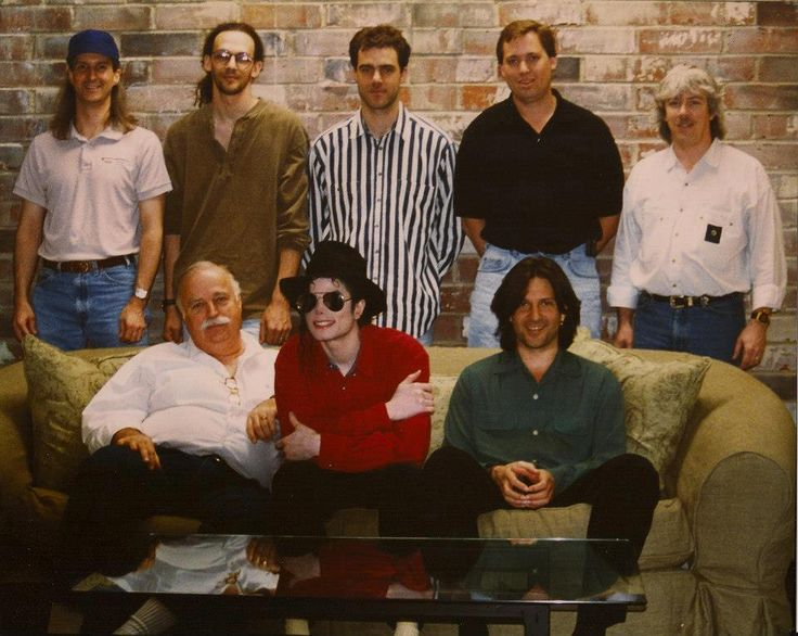 It's amazing what can happen when a person with a dream surrounds himself with a great team. Michael Jackson during making of HIStory.